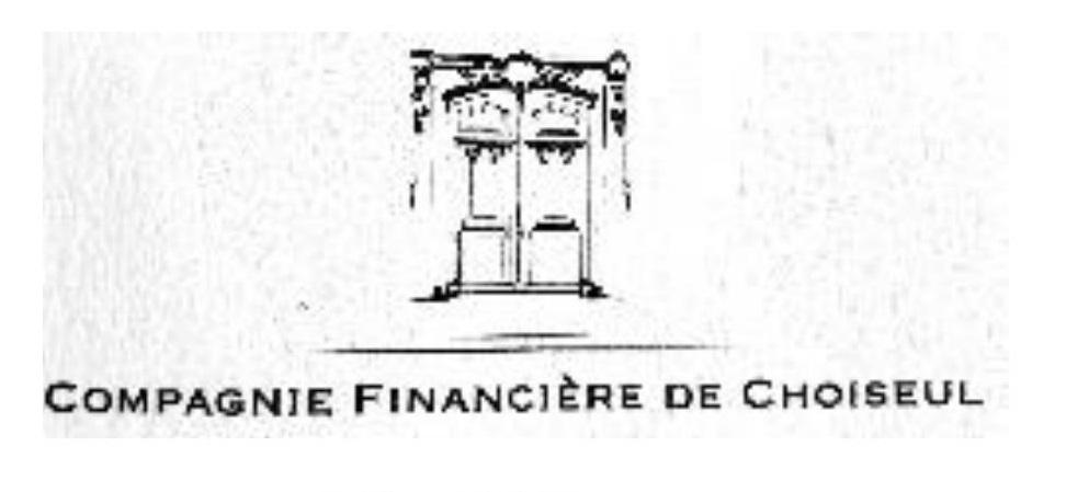 logo COMPAGNIE Financière de Choiseul
