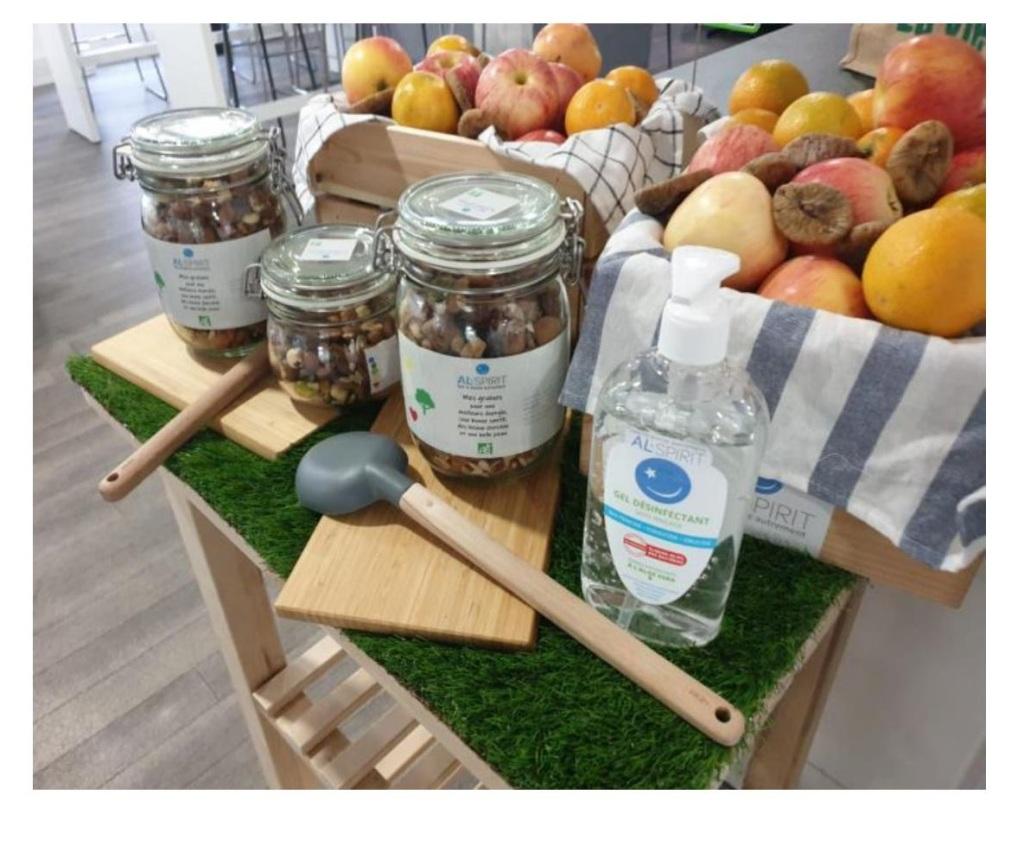 graines al-spirit pour bonnes santé