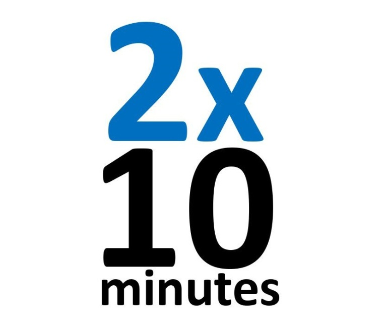 alspirit 2x 10 minutes